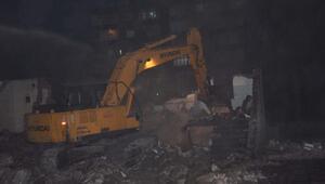 İslahiyede, metruk ev yıkıldı