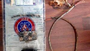 Tuncelide 750 kilo patlayıcı bulundu
