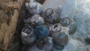 Hakkaride patlayıcı yapımında kullanılan 10 tüp bulundu
