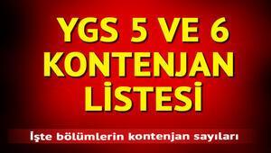 YGS 5 ve YGS 6 puanı ile alan bölümler hangileri YGS 5 ve YGS 6 ile alan 2 yıllık bölümler