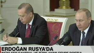 Cumhurbaşkanı Erdoğan ve Putinden açıklamalar