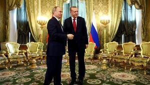 Cumhurbaşkanı Erdoğan ve Putinden flaş açıklamalar