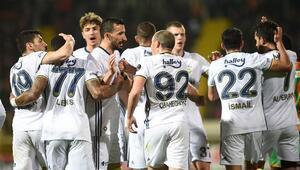 Aytemiz Alanyaspor 2-3 Fenerbahçe / MAÇIN ÖZETİ