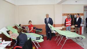 Kırklareli Üniversitesi'nde kan bağışı kampanyası