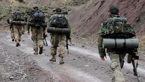 Sınırda dev operasyon JÖHler o bölgeye indirildi