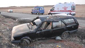 Yozgat'ta otomobil takla attı: 3 yaralı