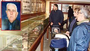 Şeker ve un vererek savaş müzesi kurdu