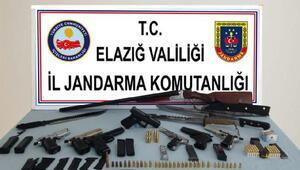 Elazığ ve Diyarbakırda silah kaçakçılığı operasyonu