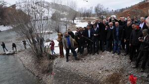 Munzurda yapılması planan HES ve barajlar protesto edildi