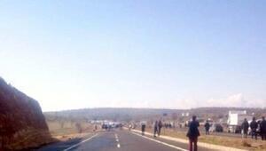 Mardin- Diyarbakır yolunda PKKdan bombalı tuzak; 2 şehit - fotoğraflar