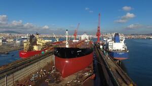 Türk tersaneleri gemi inşa sanayisinde dünyanın gözbebeği olacak