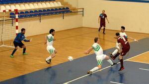 Görme engelliler Futsal 1inci Lig Müsabakaları Manavgatta devam etti
