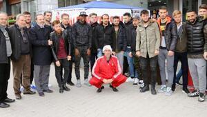 Balıkesirsporlu Erhan 6ncı ölüm yıldönümünde anıldı