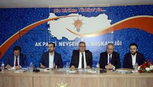 AK Parti Yerel Yönetimlerden Sorumlu Genel Başkan Yardımcısı Yüksel, Nevşehir'de