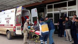 El Babdaki yaralanan 7 ÖSO askeri Kilise getirildi