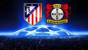 Atletico Madrid Bayer Leverkusen Şampiyonlar Ligi maçı bu akşam saat kaçta hangi kanalda canlı olarak yayınlanacak