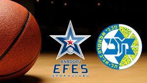 Anadolu Efes Maccabi Fox basketbol maçı ne zaman saat kaçta hangi kanaldan yayınlanacak