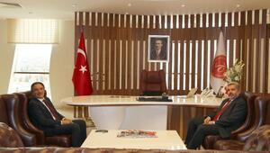 Aksaray Üniversitesi Rektöründen, Rektör Bağlıya ziyaret