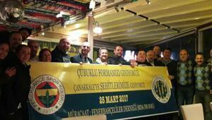 Fenerbahçeliler Çanakkale'de buluşuyor