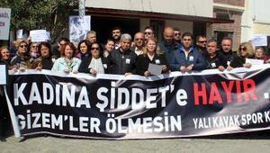 Bodrumda CHPden kadın cinayetlerine tepki