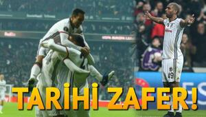 Beşiktaş Olympiakos maçının özeti ve zaferi getiren goller