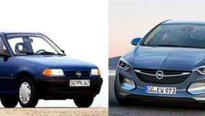 Otomobillerin eski ve son hali