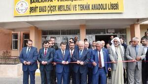 Viranşehir'deki okula şehit polisin ismi verildi