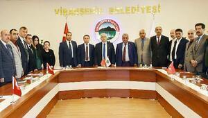 Vali Tuna'dan Viranşehir ziyareti