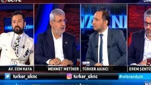 AK Partili Metinerden Baykala tehdit: Yoksa bu millet...
