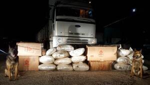 TIRda 1 milyon liralık uyuşturucu ele geçirildi