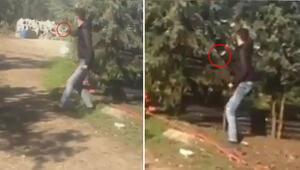 Sosyal medyada paylaşılan videoya tepki yağdı