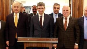 İçişleri Bakanlığı Müsteşarı İnce Başkan Sekmeni ziyaret etti