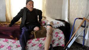 Protez bacaklı yaşlı, malulen emekli olamadı