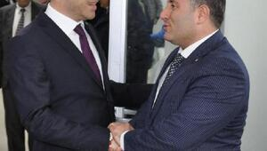Bucada CHPden AK Partiye iade-i ziyaret