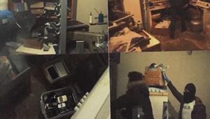 İstanbulda hücre evlerine baskın Talimatları telegramla alıyorlardı