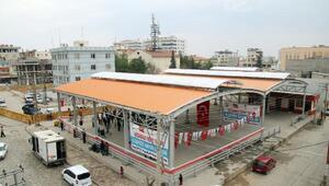 Akçakale'de semt pazarı açıldı