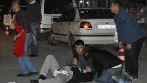 Manavgatta silahlı saldırı: 1 yaralı
