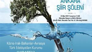 KIBATEKten Uluslararası Ankara Şiir Şöleni