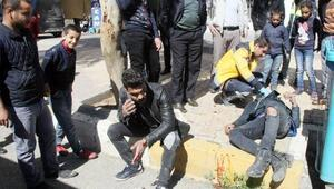 Şanlıurfa'da motosiklet ile otomobil çarpıştı: 2 yaralı