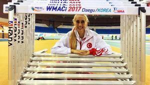 Dünya Masterler Salon Atletizm Şampiyonasında Kurtcan madalya peşinde