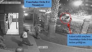 Darbeciler Fenerbahçe Orduevine 4 uçaksavar, 6 ağır makineli tüfek, 4500 fişekle gelmiş