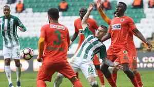 Bursaspor 1-3 Aytemiz Alanyaspor / MAÇIN ÖZETİ
