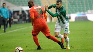 Bursaspor-Aytemiz Alanyaspor: 1-3