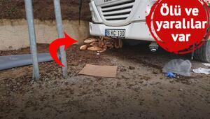 TIR işçi minibüsüyle çarpıştı: 2 ölü, 24 yaralı