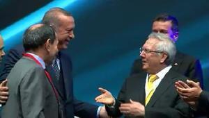 Cumhurbaşkanı Erdoğan, Özbek ve Yıldırımı bir araya getirdi