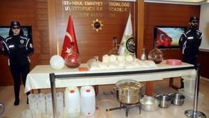 Fatih ve Başakşehirdeki operasyonlarda 15 milyon dolarlık uyuşturucu ele geçirildi