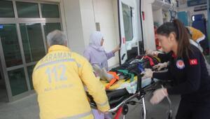 Hastanede temizlik görevlisi kadın, eşini sedyede görünce sinir krizi geçirdi