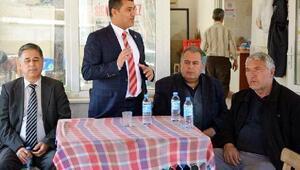 CHPli vekil Milas köylerini dolaştı