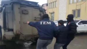 İstanbuldan getirildiğini belirleyince polis operasyon yaptı. Canlı bomba olarak Türkiyeye gönderilecekti