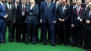 Fotoğraflar // Cumhurbaşkanı Erdoğandan Desaillyye penaltı golü